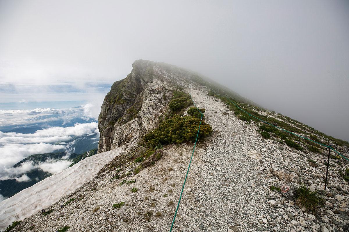 【白馬岳 栂池自然園】登山百景-山頂・・・だと思ってた先へ