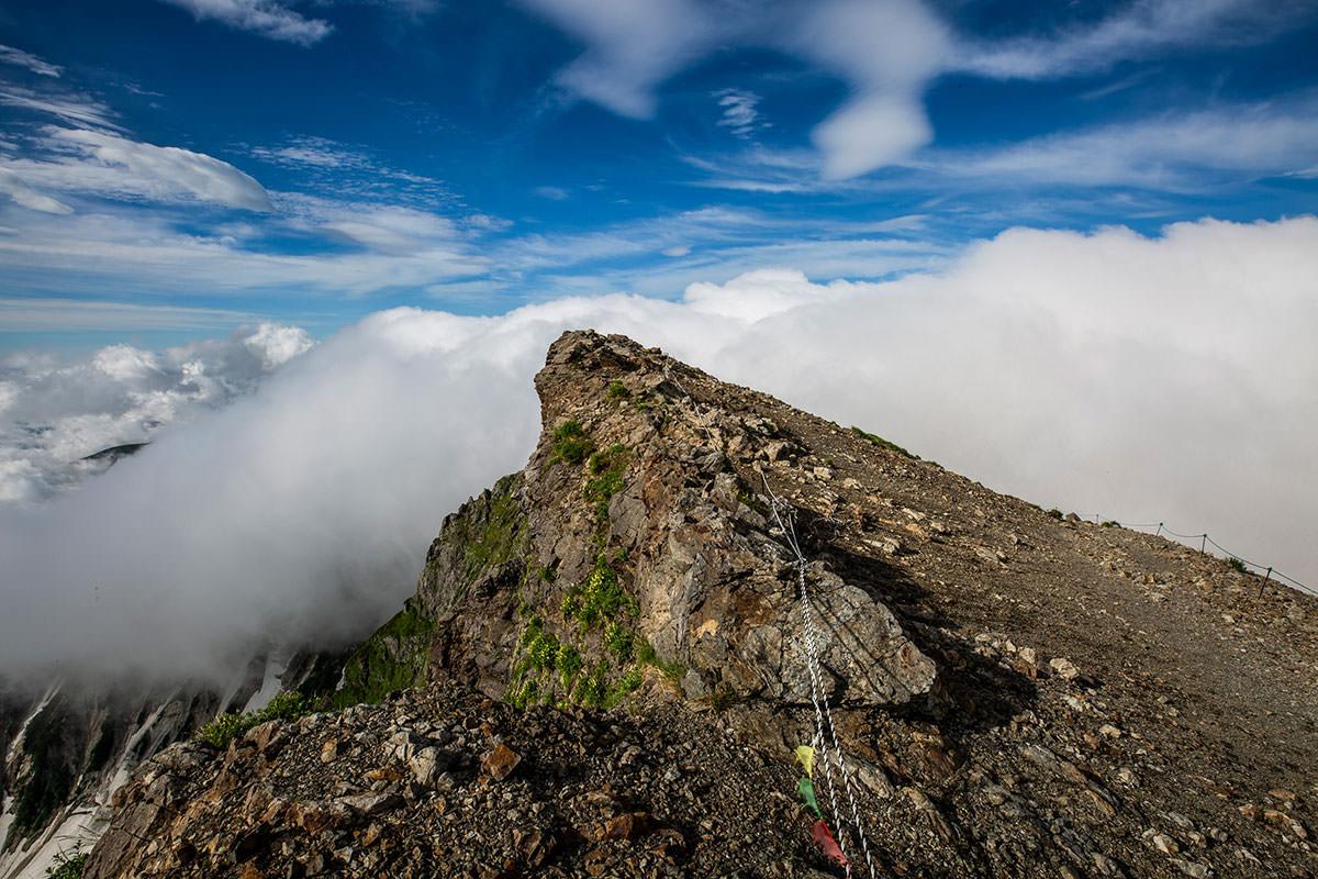 【白馬岳 栂池自然園】登山百景-南側は見えない