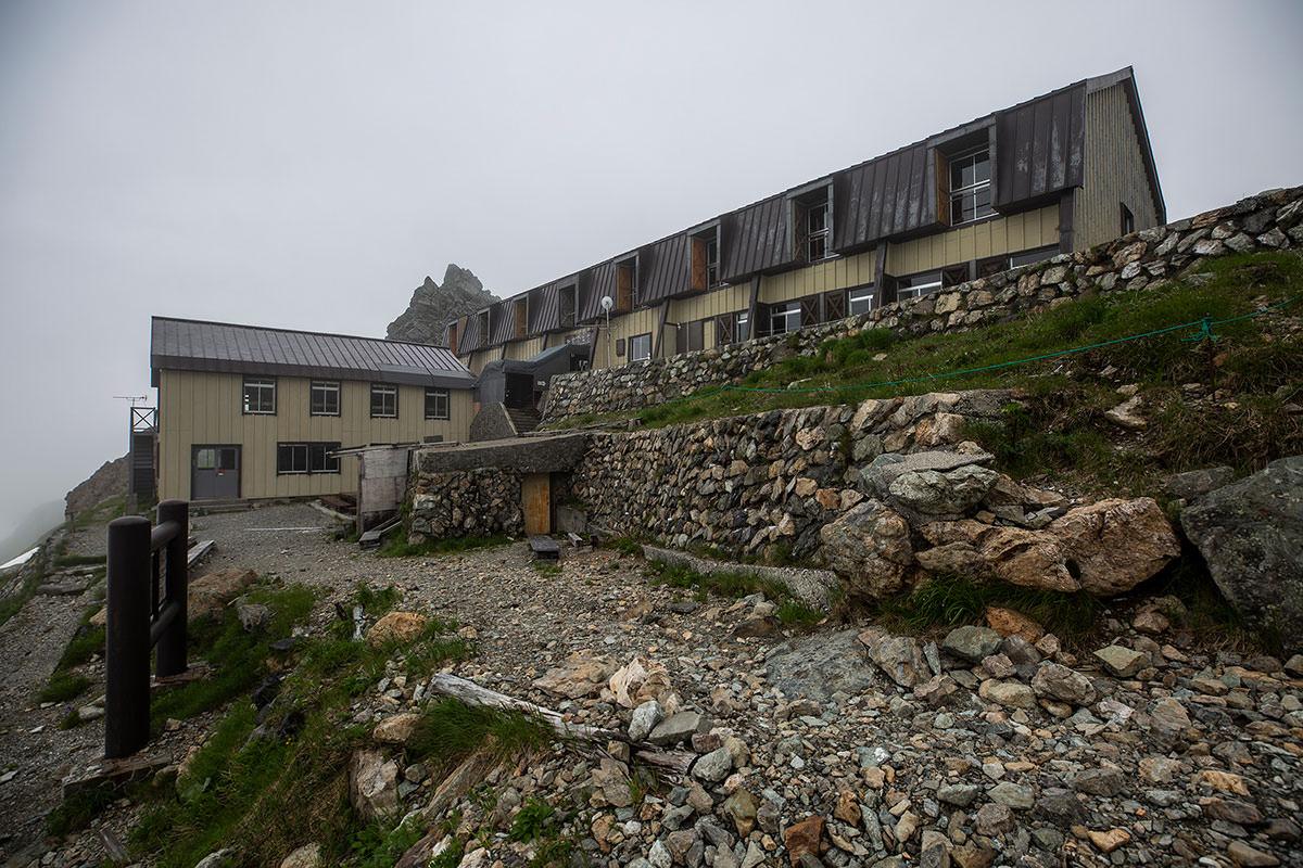 【白馬岳 栂池自然園】登山百景-村営頂上宿舎