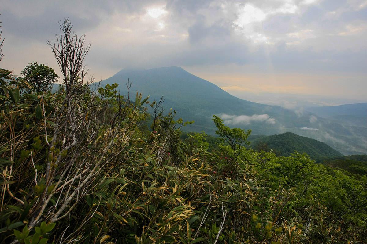 黒姫山も大きい