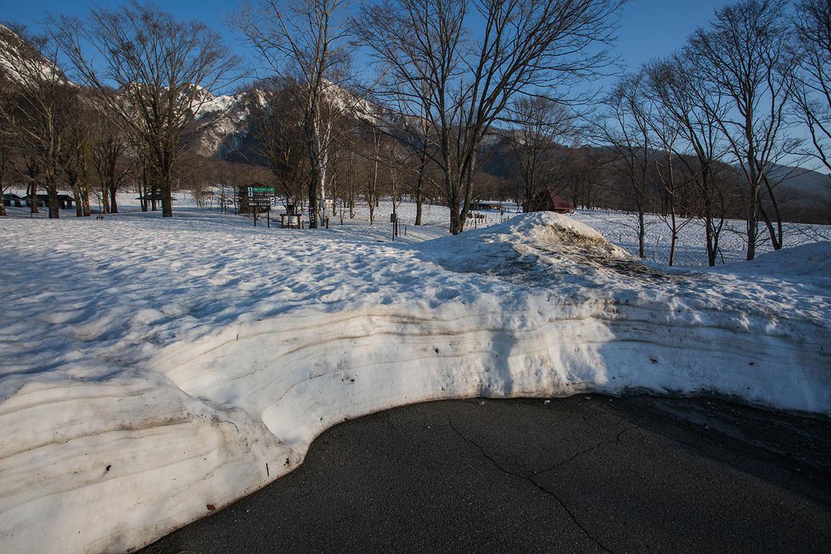 除雪終わり