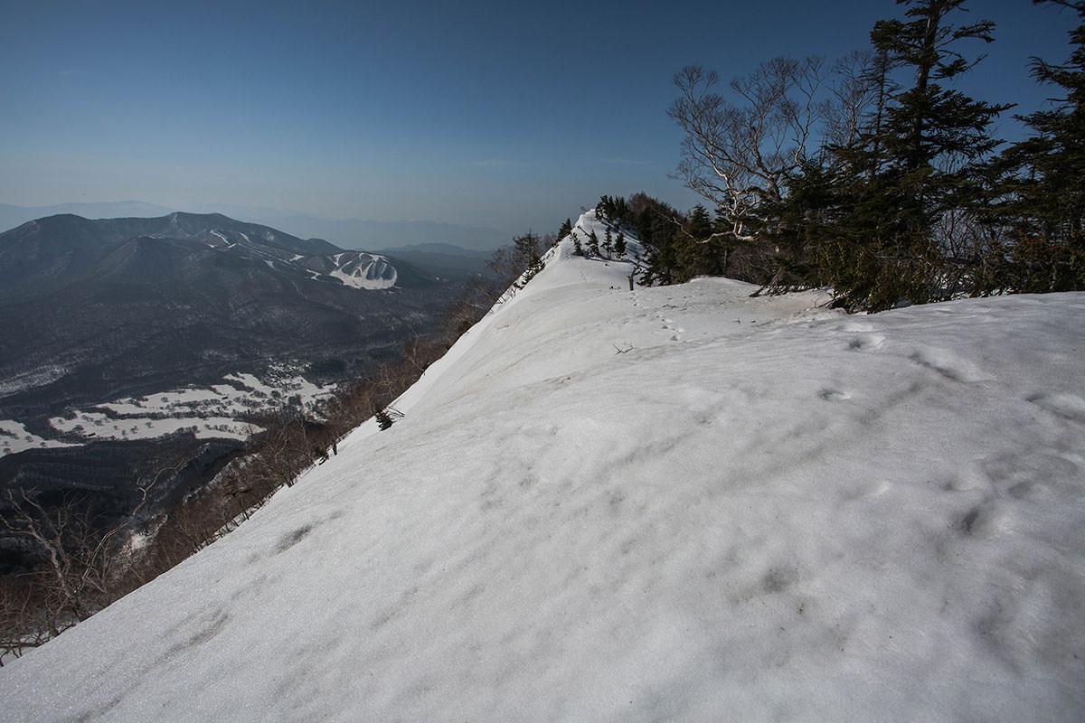 左を見ると五地蔵山