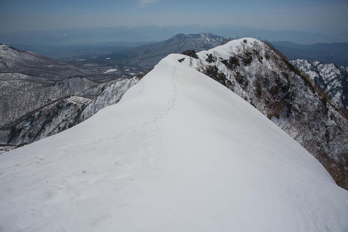 四阿山と浅間山方面