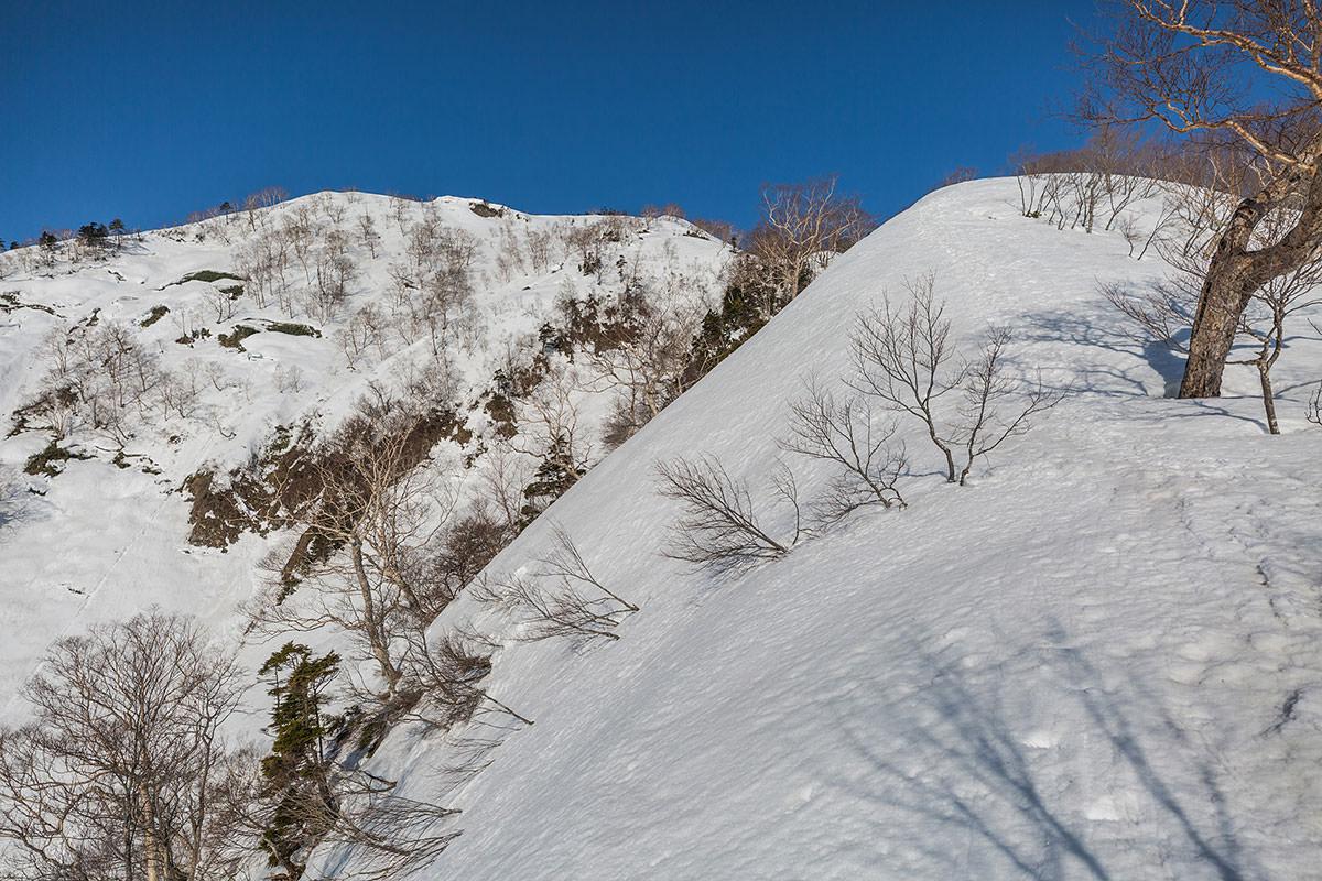 【高妻山 弥勒尾根新道】登山百景-五地蔵山への登り