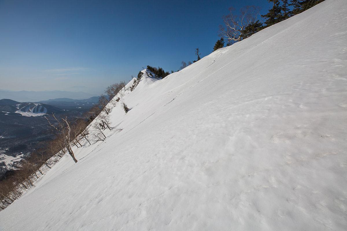 【高妻山】登山百景-あの先が五地蔵山