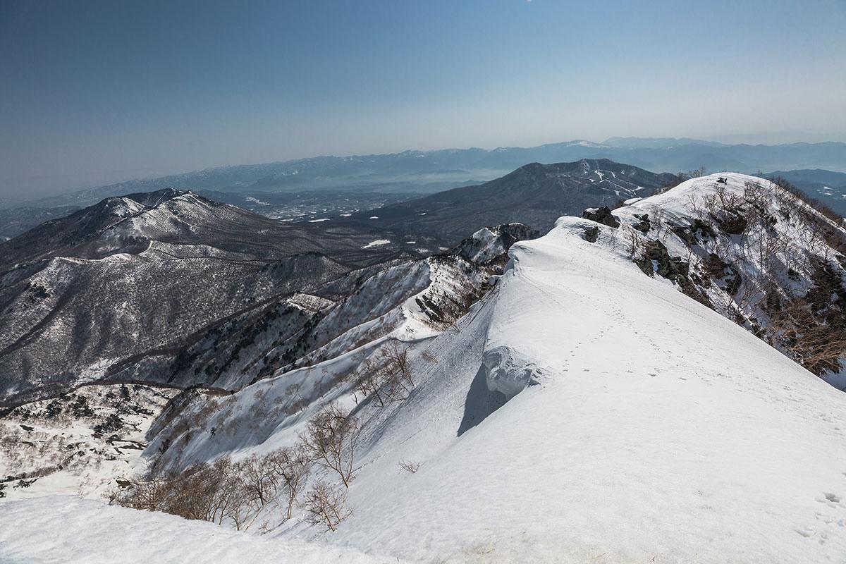 【高妻山】登山百景-歩いた稜線を見る