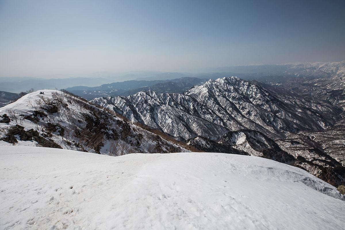 【高妻山 弥勒尾根新道】登山百景-戸隠連峰