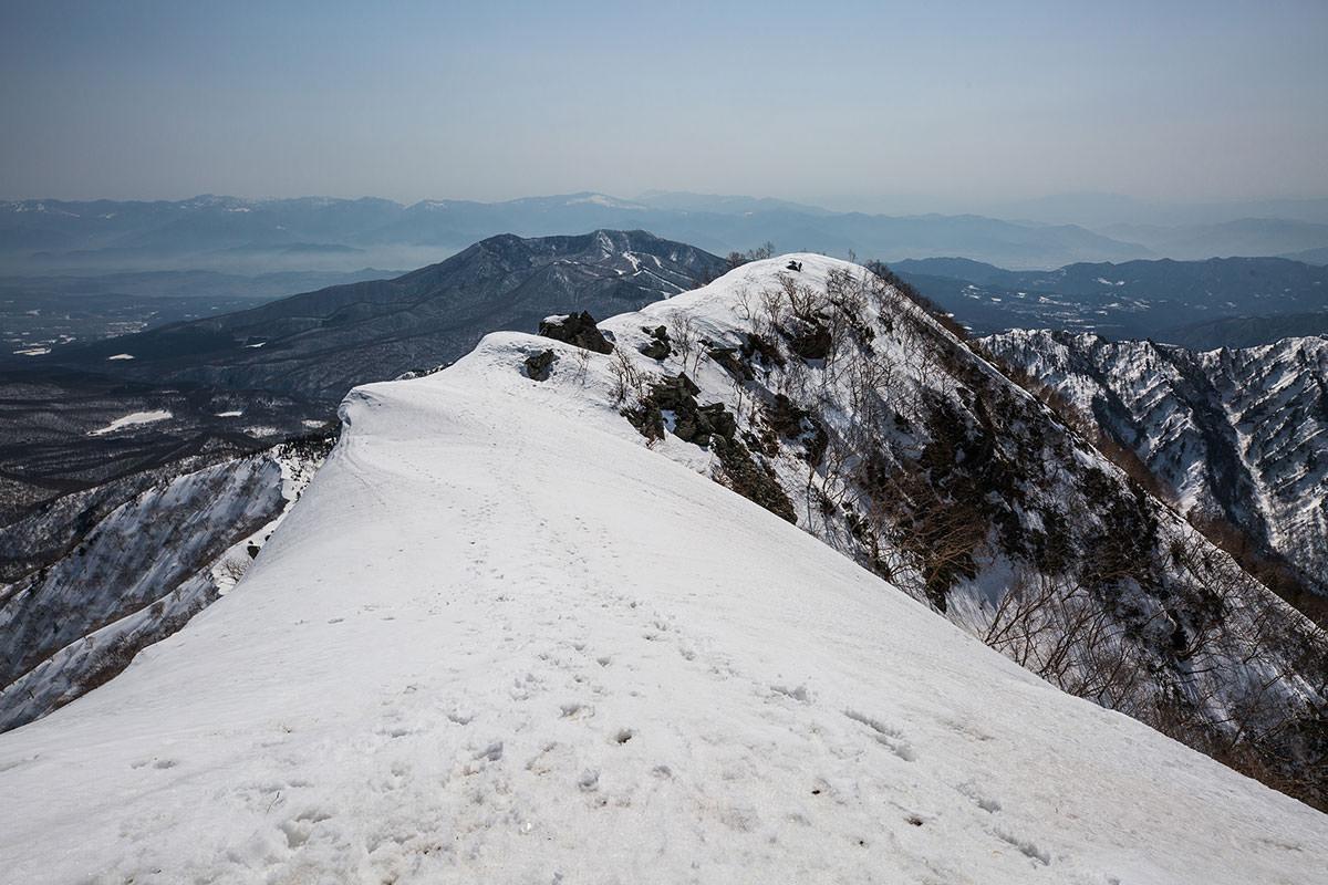 【高妻山 弥勒尾根新道】登山百景-戸隠連峰が近づいてくる