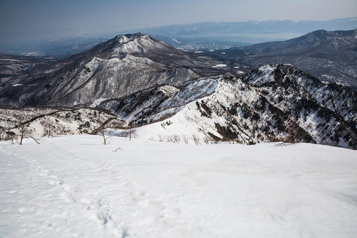 【高妻山】登山百景-八観音まで来ると安心感が増す