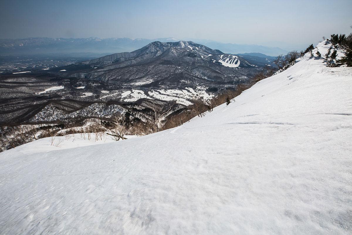 【高妻山】登山百景-登山口に下りてきた