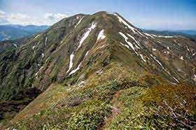 仙ノ倉山へ
