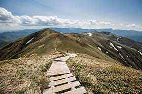 仙ノ倉山から下りる