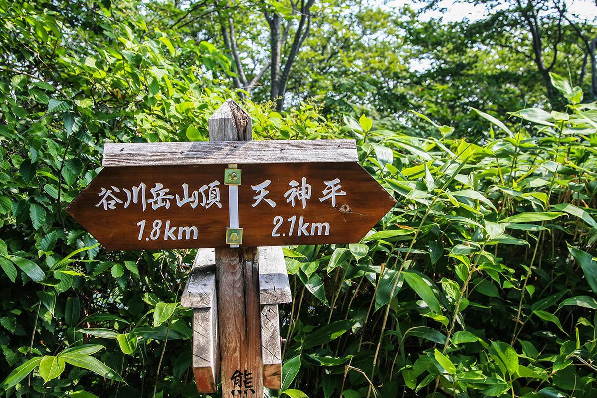 【谷川岳】登山百景-目安