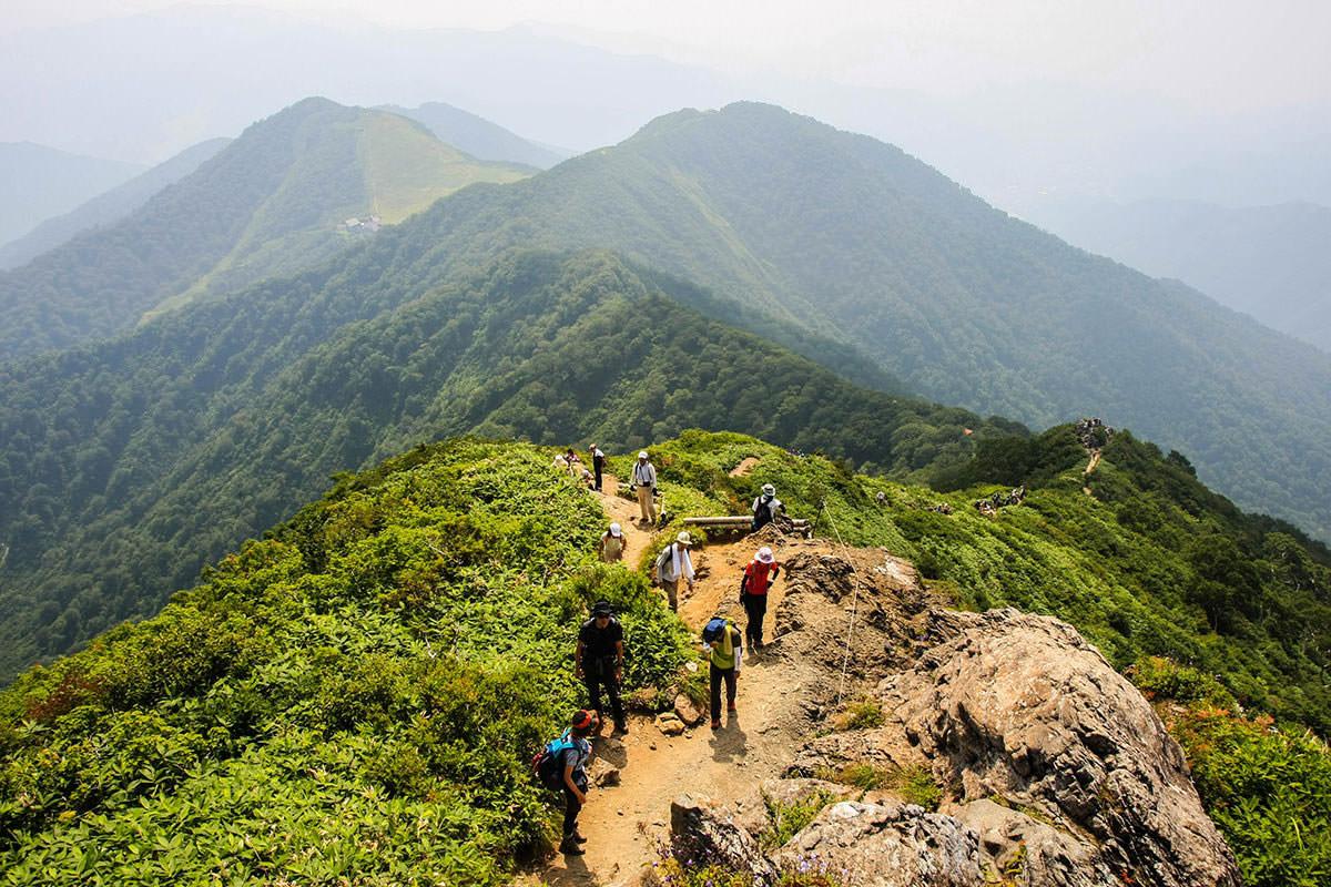 【谷川岳】登山百景-振り返ると天神平