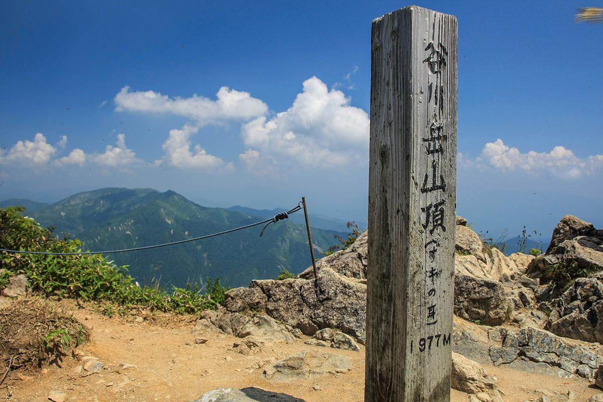 【谷川岳】登山百景-オキの耳に着いた。