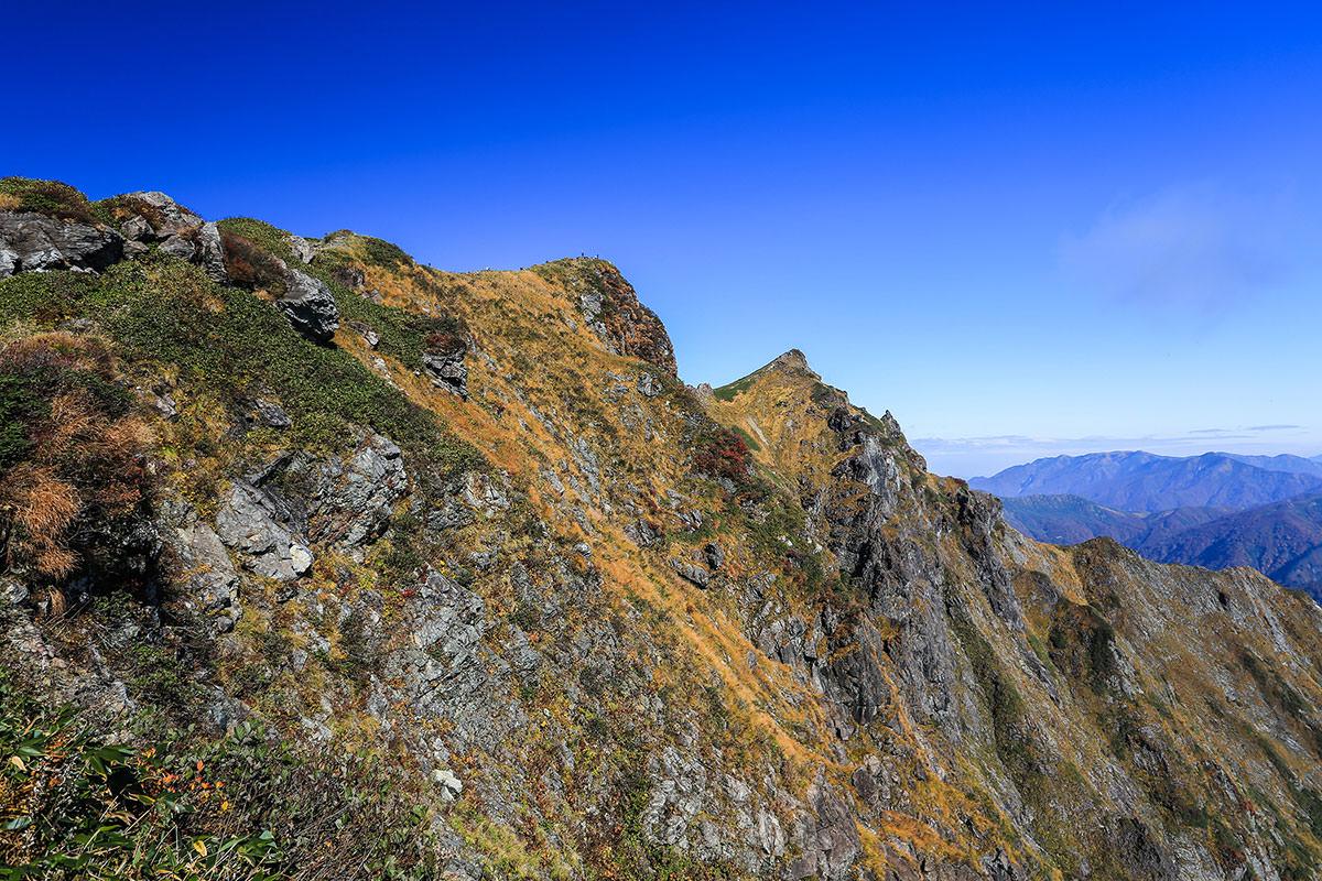 【谷川岳】登山百景-山頂近い