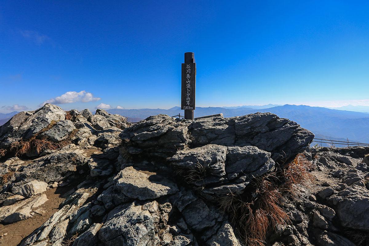 【谷川岳】登山百景-トマの耳