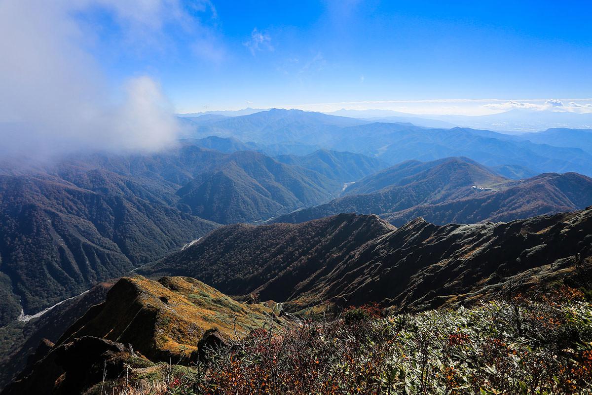 【谷川岳】登山百景-南の方