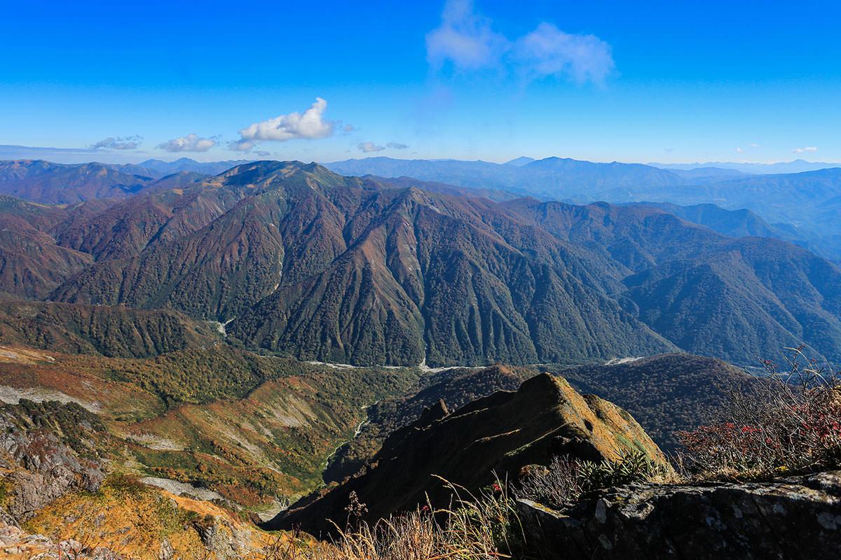 【谷川岳】登山百景-東の方