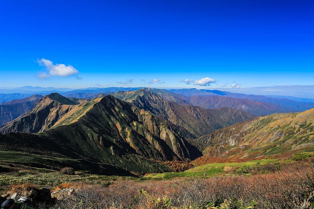 【谷川岳】登山百景-西の方