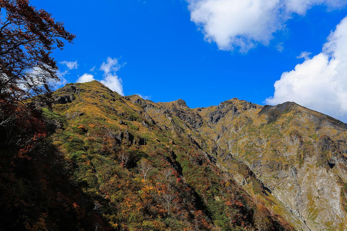 谷川岳がよく見える