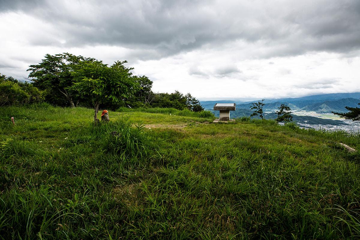 【太郎山】登山百景-太郎山山頂に着いた