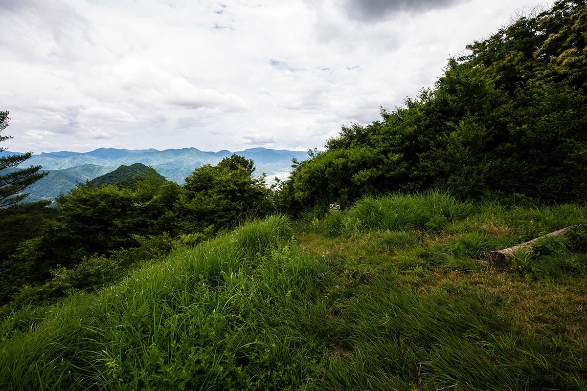 【太郎山】登山百景-北側の坂城の方