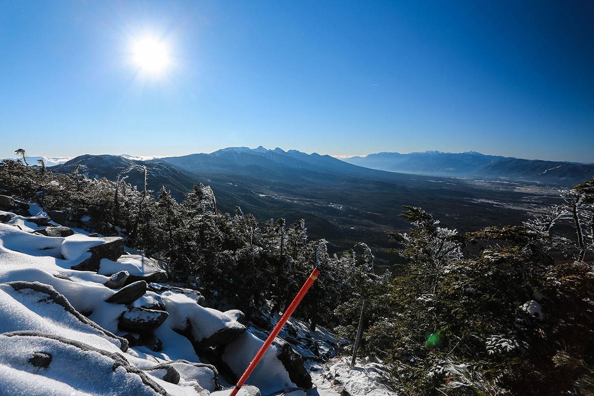 【蓼科山】登山百景-八ヶ岳と南アルプス
