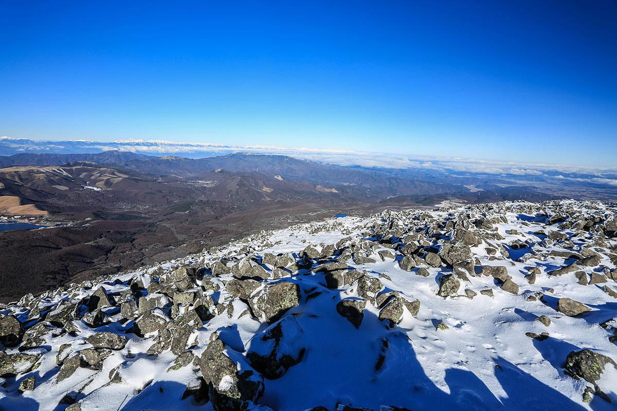 【蓼科山】登山百景-北側の景色