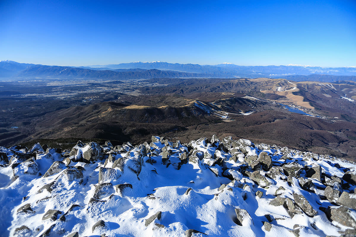 【蓼科山】登山百景-西側の景色