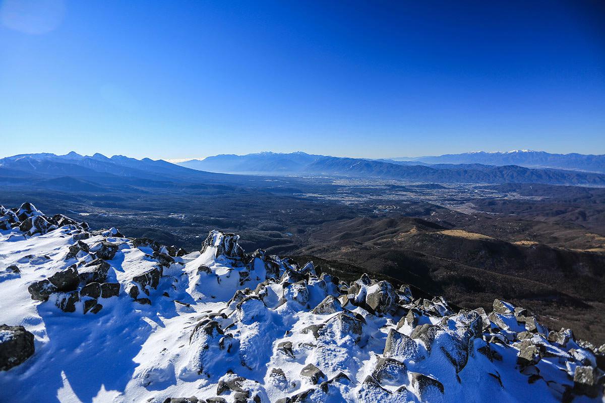 【蓼科山】登山百景-八ヶ岳とアルプス