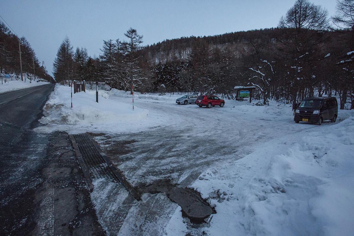 【蓼科山 竜源橋】登山百景-スズラン峠の駐車場