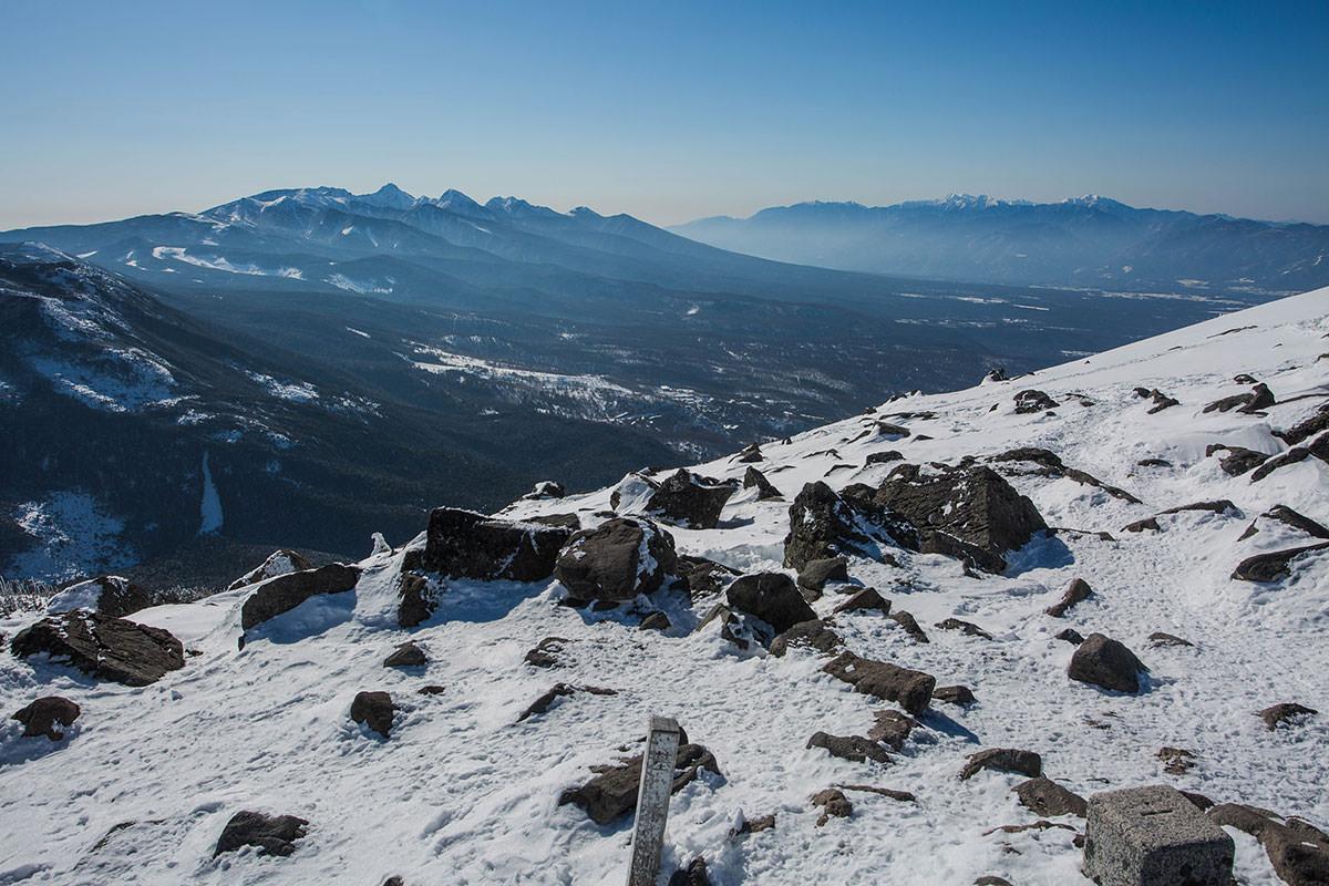 【蓼科山 竜源橋】登山百景-八ヶ岳が見える