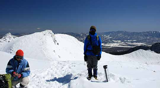 天狗岳 渋の湯登山口