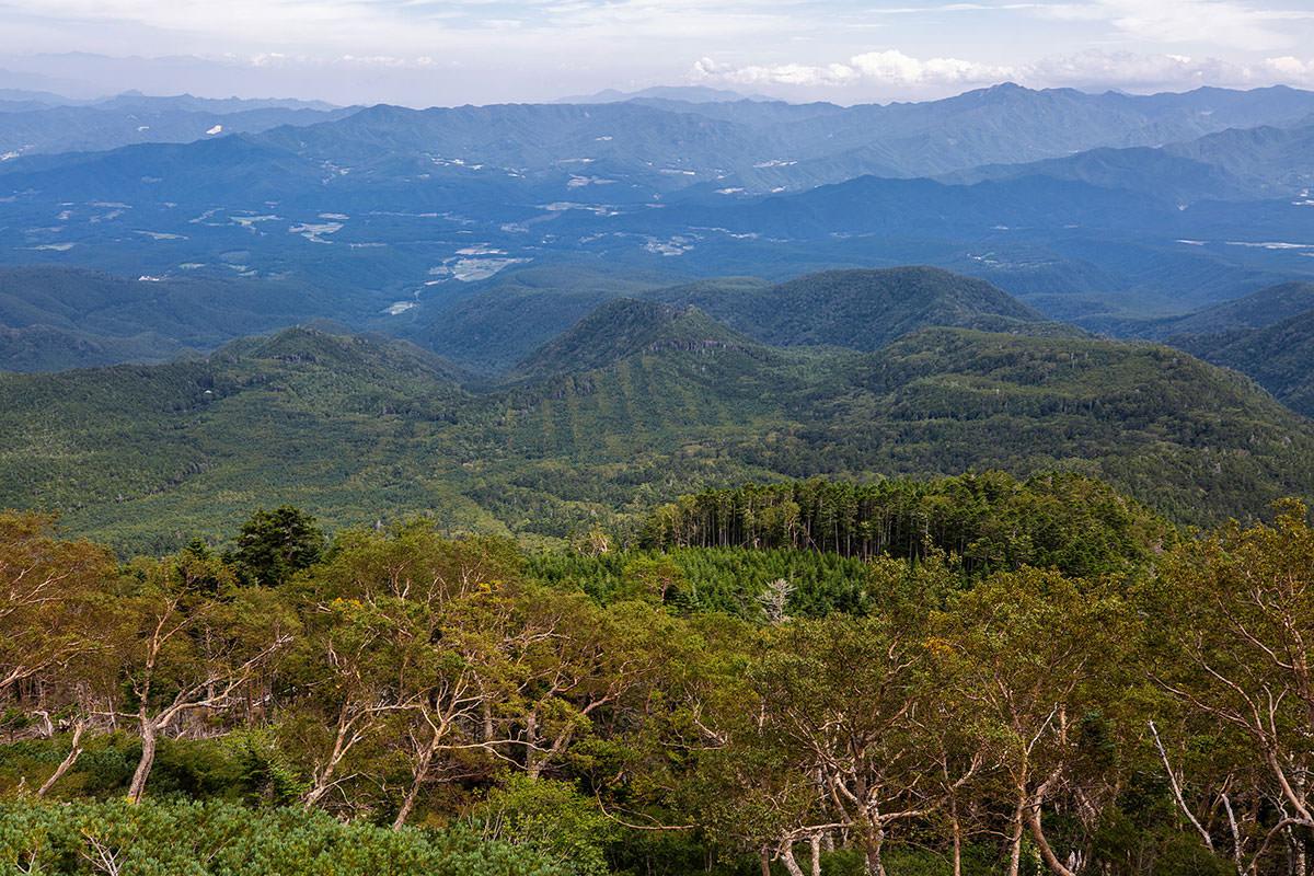 【天狗岳】登山百景-真ん中へんに縞模様