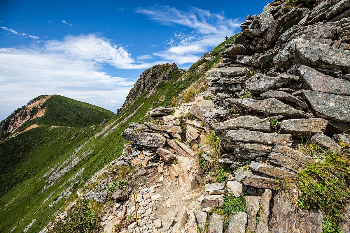 【天狗岳】登山百景-岩の多い登山道