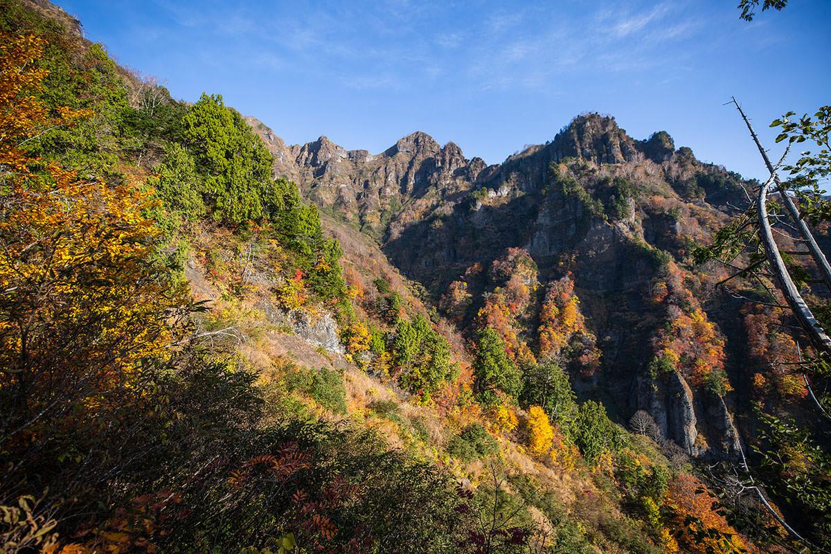 【戸隠西岳】登山百景-登ると景色が良い