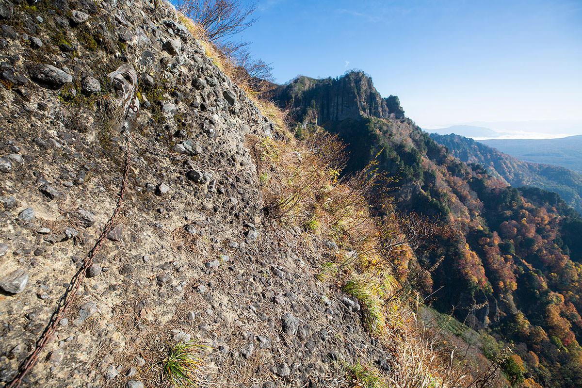 【戸隠西岳】登山百景-あれは本院岳か?