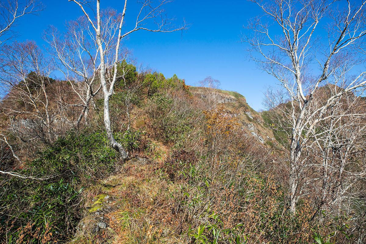 【戸隠西岳】登山百景-登ったら細尾根