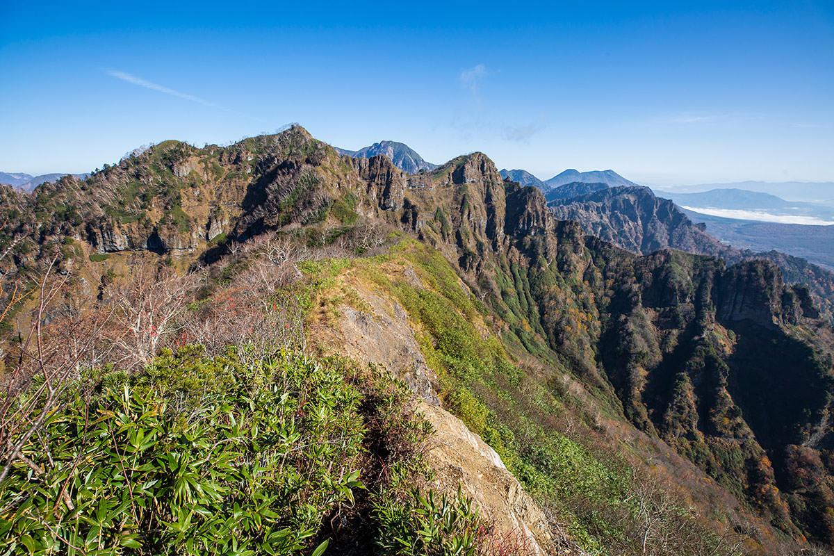 【戸隠西岳】登山百景-P1から西岳へ向かう