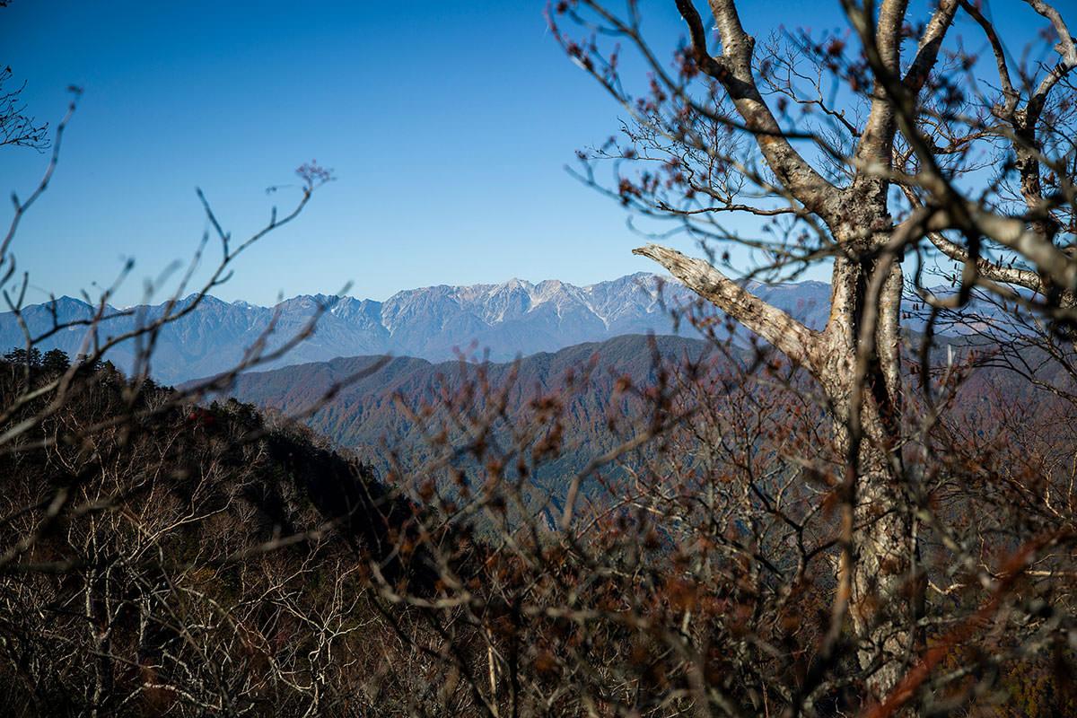 【戸隠西岳】登山百景-北アルプスが見える