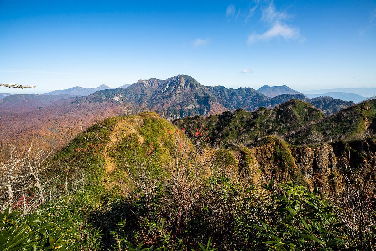 【戸隠西岳】登山百景-西岳から高妻山