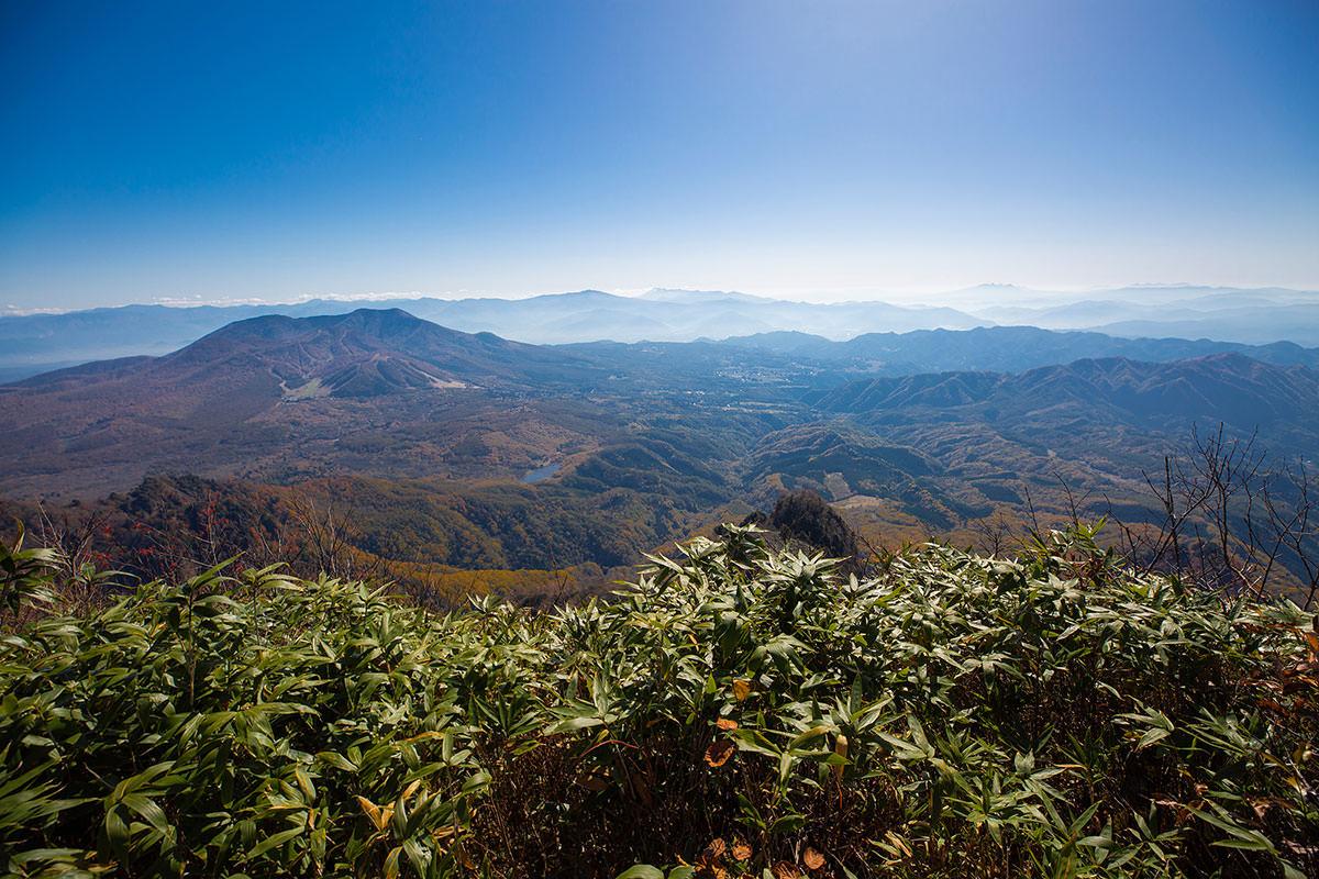 【戸隠西岳】登山百景-本院岳からの眺め
