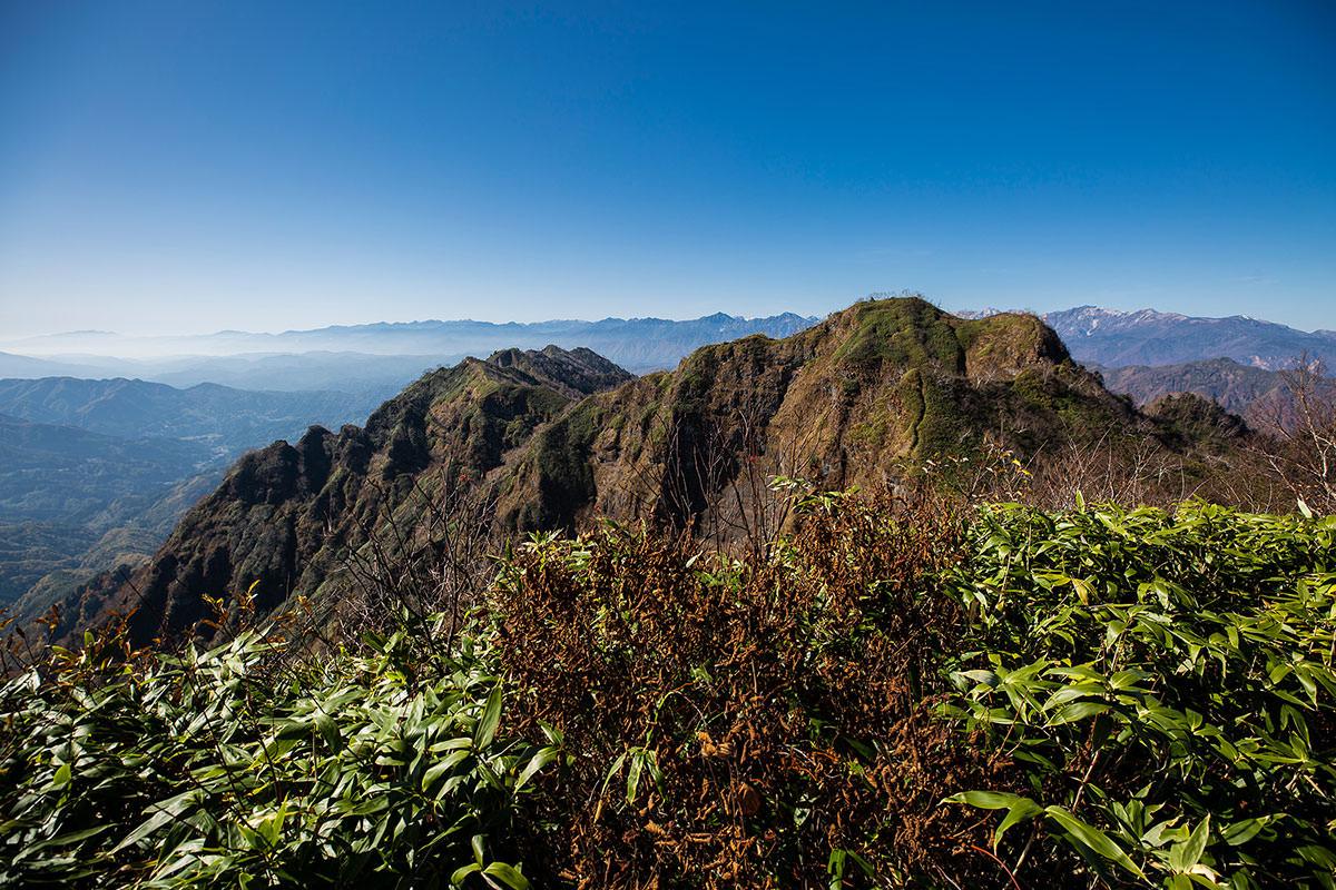 【戸隠西岳】登山百景-西岳を振り返る