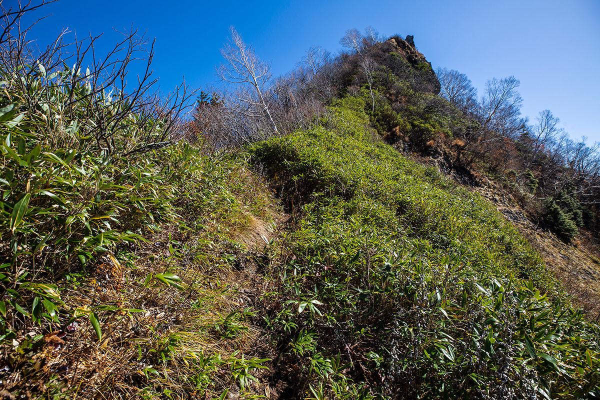 【戸隠西岳】登山百景-かなり急