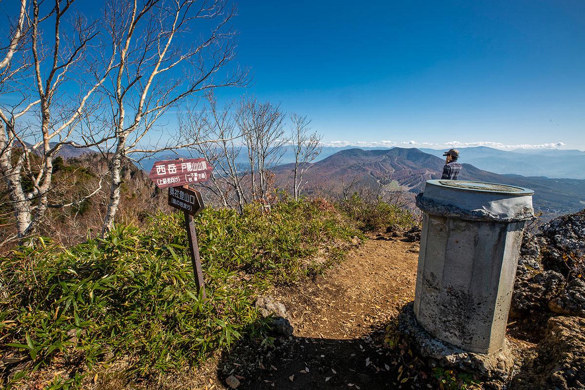 【戸隠西岳】登山百景-ここから戸隠山