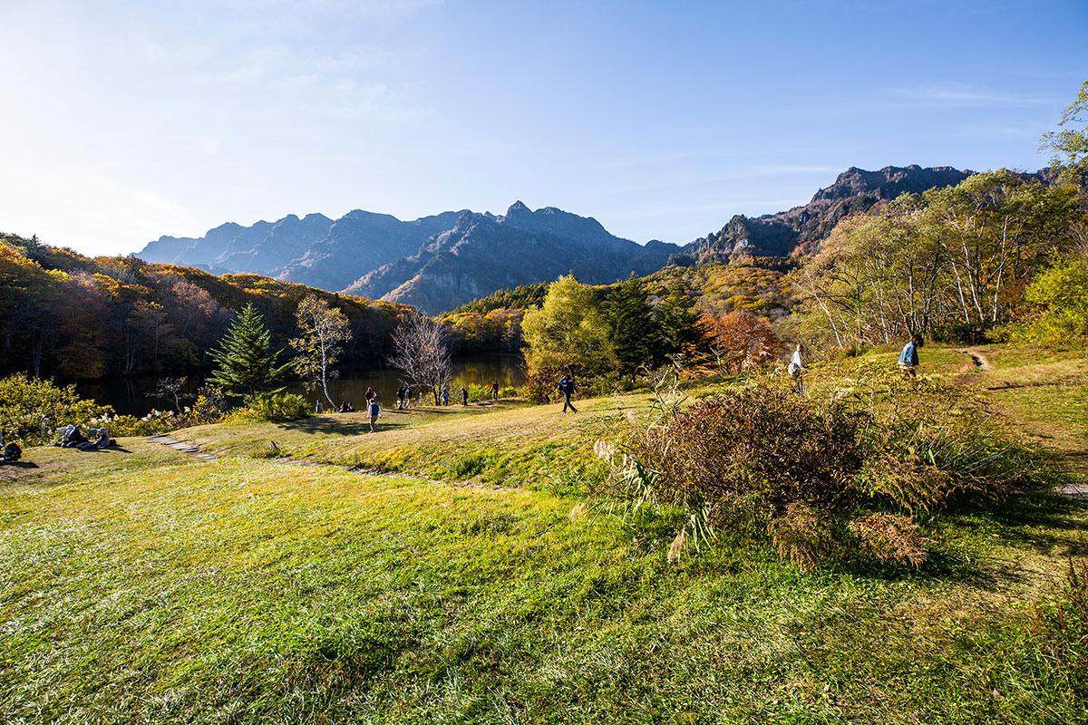 【戸隠西岳】登山百景-鏡池に着いた