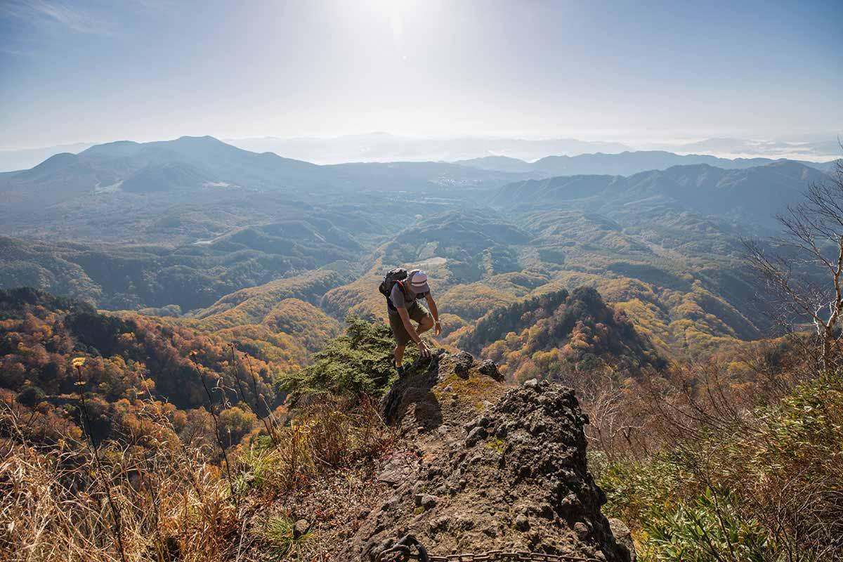 【戸隠西岳】登山百景-なぜそこから登ってくる・・・!?