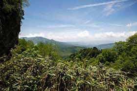 飯縄山が見えるようになってきた