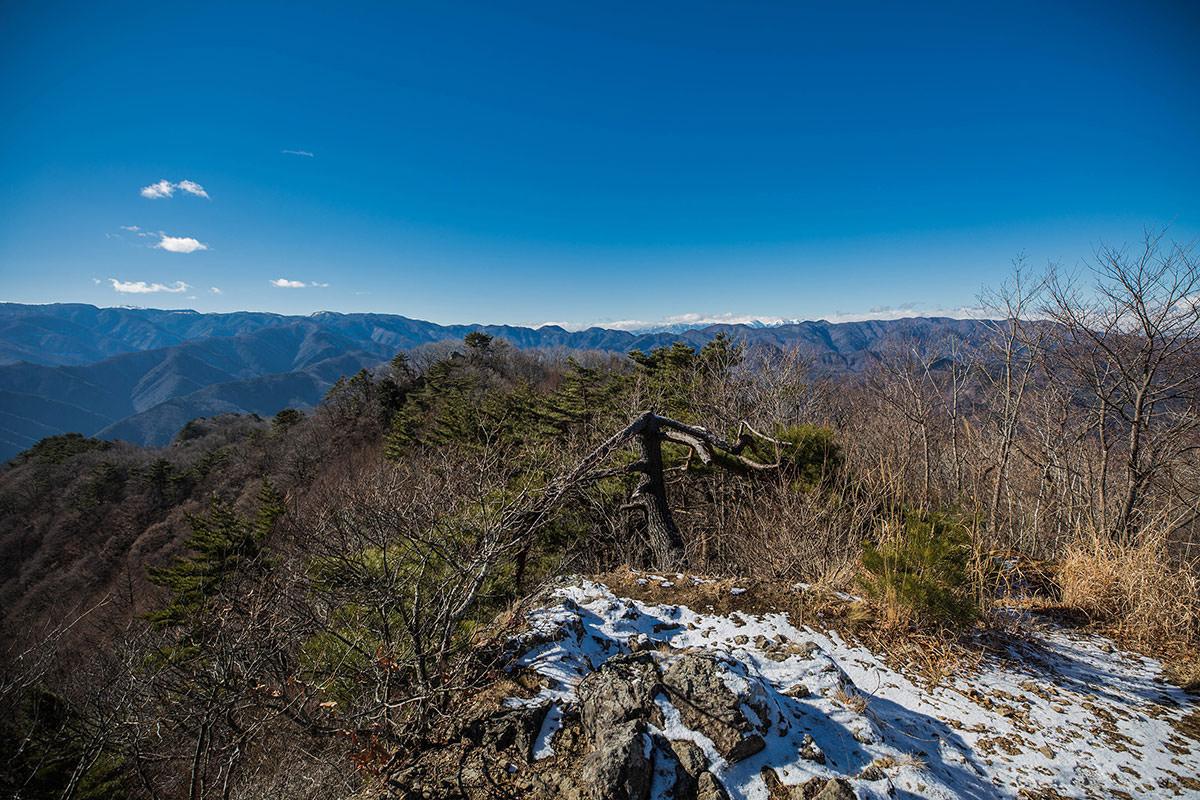 【独鈷山】登山百景-西側の眺め